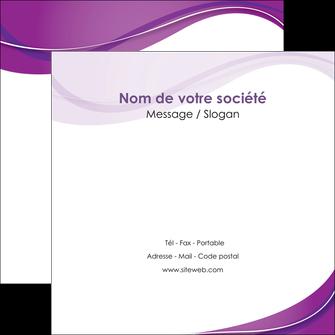 faire flyers web design violet fond violet couleur MLIG75278