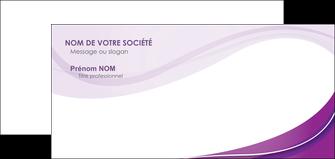 faire modele a imprimer carte de correspondance web design violet fond violet couleur MLIG75284