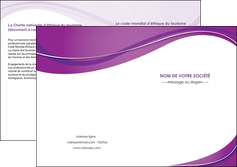 creation graphique en ligne depliant 2 volets  4 pages  web design violet fond violet couleur MLIG75286