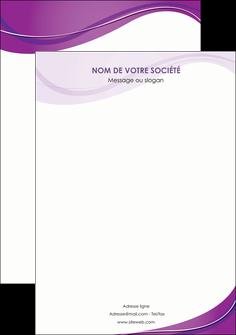faire affiche web design violet fond violet couleur MLIG75288