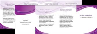 maquette en ligne a personnaliser depliant 4 volets  8 pages  web design violet fond violet couleur MLIG75296