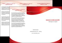 imprimer depliant 3 volets  6 pages  web design texture contexture structure MIF75324