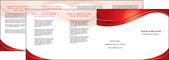 maquette en ligne a personnaliser depliant 4 volets  8 pages  web design texture contexture structure MIF75342