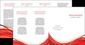 modele en ligne depliant 4 volets  8 pages  web design texture contexture structure MLGI75504