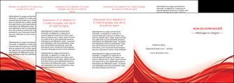 personnaliser maquette depliant 4 volets  8 pages  web design texture contexture structure MLGI75506