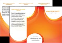 Commander Réaliser une plaquette Web Design modèle graphique pour devis d'imprimeur Dépliant 6 pages Pli roulé DL - Portrait (10x21cm lorsque fermé)
