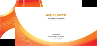 realiser flyers web design orange fond orange colore MIF75636
