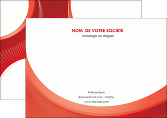 faire flyers web design rouge couleur colore MIF75680