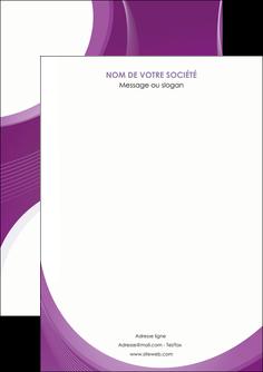 modele en ligne flyers web design violet fond violet courbes MLIG75706