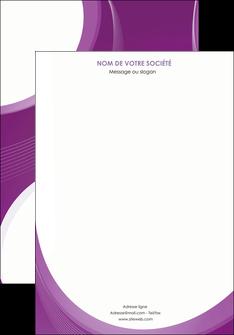 creer modele en ligne affiche web design violet fond violet courbes MLIG75710