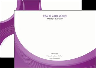 modele affiche web design violet fond violet courbes MLIG75724