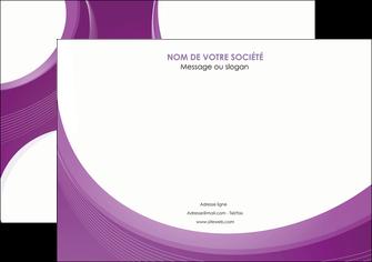 imprimer affiche web design violet fond violet courbes MLIG75726