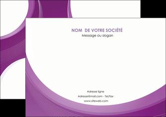 personnaliser modele de flyers web design violet fond violet courbes MLIG75732