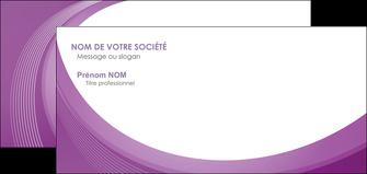 creer modele en ligne carte de correspondance web design violet fond violet courbes MLIG75742