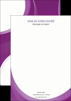 modele affiche web design violet fond violet courbes MLIG75746