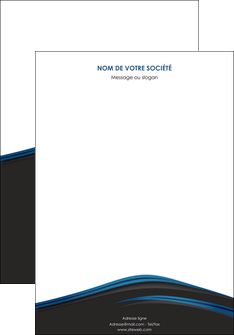 modele affiche web design fond noir bleu abstrait MLGI75980