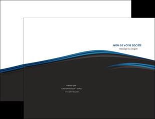 faire pochette a rabat web design fond noir bleu abstrait MLGI75986