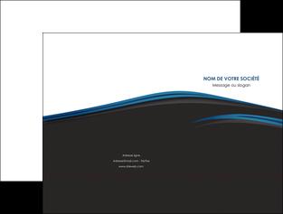 faire modele a imprimer pochette a rabat web design fond noir bleu abstrait MLGI75988