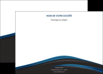creer modele en ligne affiche web design fond noir bleu abstrait MLGI75994