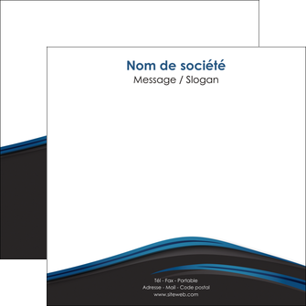 faire flyers web design fond noir bleu abstrait MIF76006