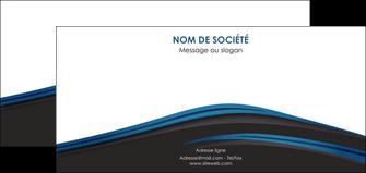 cree flyers web design fond noir bleu abstrait MLGI76010
