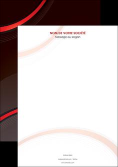 personnaliser maquette affiche web design rouge gris contexture MLGI76696