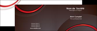 imprimerie carte de visite web design rouge gris contexture MLGI76700