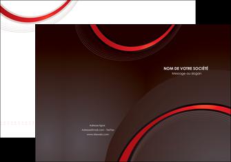 creation graphique en ligne pochette a rabat web design rouge gris contexture MLGI76704