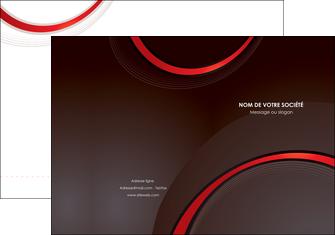 modele en ligne pochette a rabat web design rouge gris contexture MLGI76706
