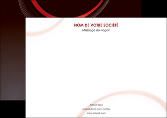 imprimerie affiche web design rouge gris contexture MLGI76710