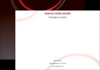 realiser affiche web design rouge gris contexture MLGI76712