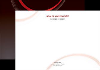 impression affiche web design rouge gris contexture MLGI76714
