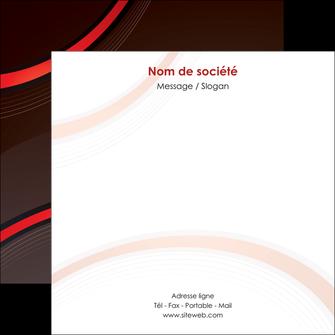 personnaliser modele de flyers web design rouge gris contexture MLGI76726