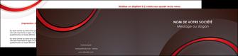 creer modele en ligne depliant 2 volets  4 pages  web design rouge gris contexture MLGI76728