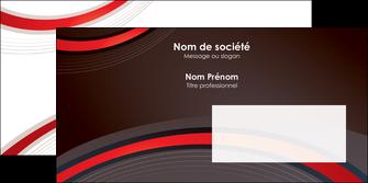 imprimerie enveloppe web design rouge gris contexture MLGI76730
