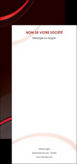 personnaliser modele de flyers web design rouge gris contexture MLGI76742