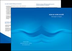 creation graphique en ligne depliant 2 volets  4 pages  web design bleu fond bleu bleu pastel MIF77022