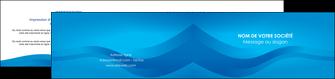 realiser depliant 2 volets  4 pages  web design bleu fond bleu bleu pastel MIF77026