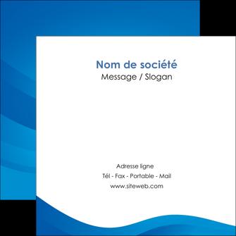 personnaliser modele de flyers web design bleu fond bleu bleu pastel MIF77028