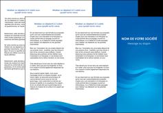 modele en ligne depliant 3 volets  6 pages  web design bleu fond bleu bleu pastel MIF77036