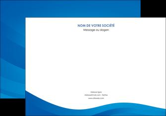 cree affiche web design bleu fond bleu bleu pastel MIF77040