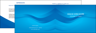 personnaliser maquette depliant 2 volets  4 pages  web design bleu fond bleu bleu pastel MIF77046