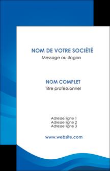 modele en ligne carte de visite web design bleu fond bleu bleu pastel MIF77052