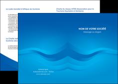 modele en ligne depliant 2 volets  4 pages  web design bleu fond bleu bleu pastel MIF77056