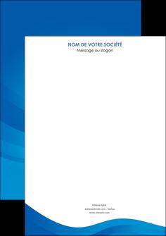 creer modele en ligne affiche web design bleu fond bleu bleu pastel MIF77060