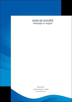 cree flyers web design bleu fond bleu bleu pastel MIF77068