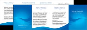 modele en ligne depliant 4 volets  8 pages  web design bleu fond bleu bleu pastel MIF77072