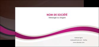 imprimer flyers web design violet fond violet marron MIF77100