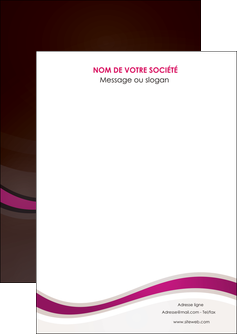 imprimer flyers web design violet fond violet marron MLGI77114