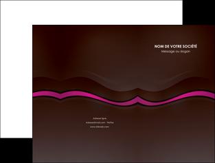 modele pochette a rabat web design violet fond violet marron MLGI77124